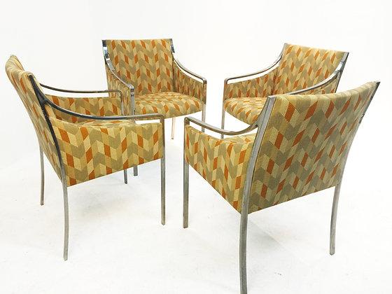 #1687 Set of Bert England Chairs for Stow Davis