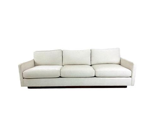 #5605 Milo Baughman Tuxedo Sofa