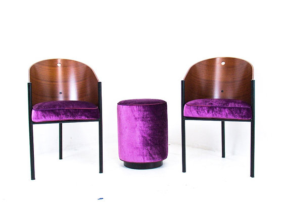 Driade Costes Chairs & Stool by Philippe Starck