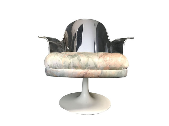#3461 Single Lucite Chair with Tulip Base