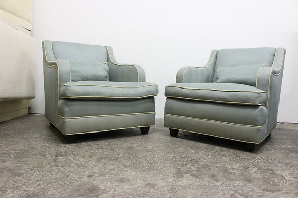 8797 Pair Drexel Regency Chairs