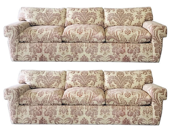 #4306 Custom Fortuny Sofa (1 Available)