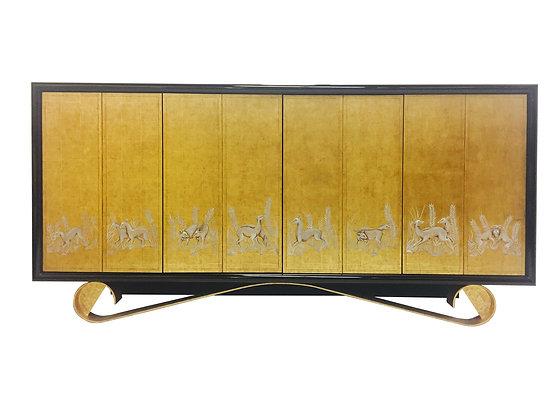 #2366-835 Cassetto Sideboard by Jean De Merry
