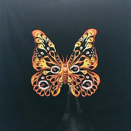 """#4144 Nude Butterfly 48""""x48"""""""