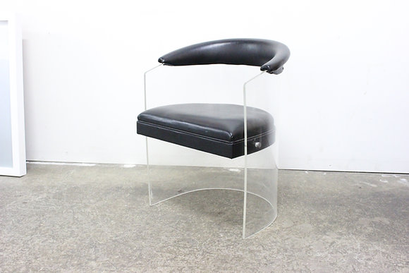8845 Single Lucite Chair