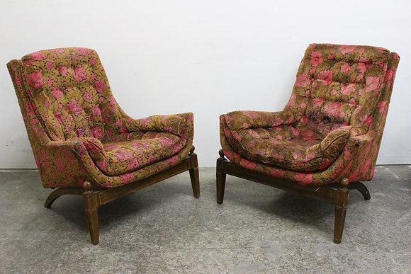 #1147 Adrain Pearsall Lounge Chairs