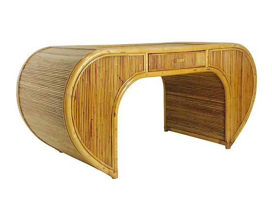 #2552 Crespi Style Rattan Desk