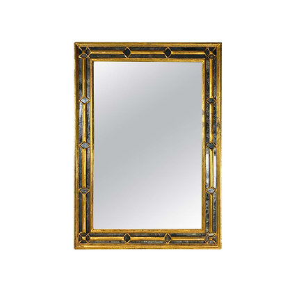 #4937 Large Venetian Gold Leaf Mirror