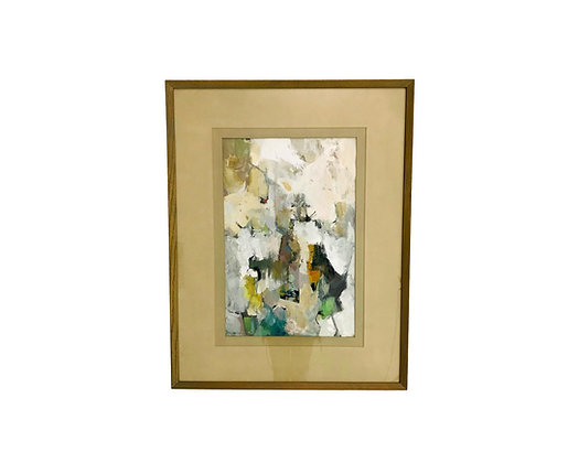 #5474 Marilyn Mittelman Mixed Media Abstract Art