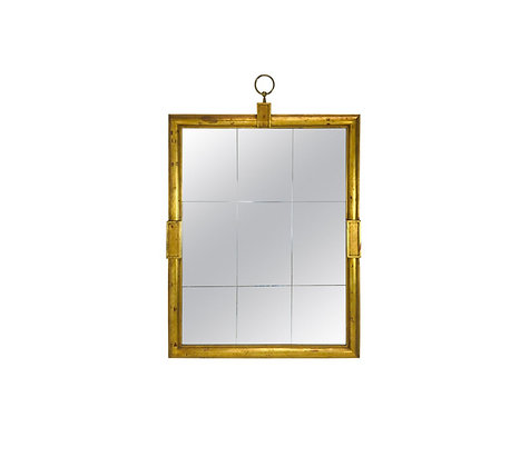 #4568 Tommi Parzinger Large Gold Mirror