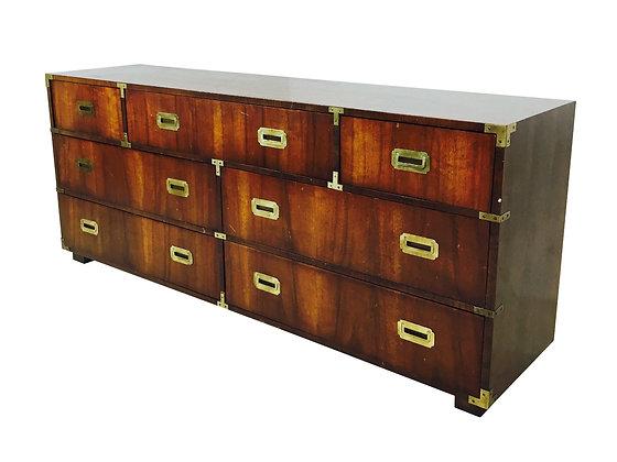 #2295 7 Drawer Campaign Dresser by Lane
