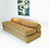 Thumbnail: #2528 Bolster Back Slipper Sofa by Marge Carson in the Style of Milo Baughman