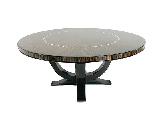 #4935 Large Round Dining Table
