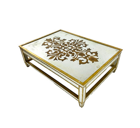 #5408 Eglomise Mirrored Coffee Table