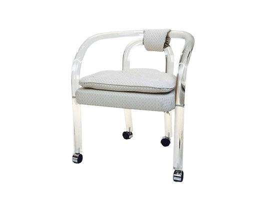 #2281 Single Lucite Chair by C. Hollis Jones