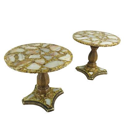 #4816 Arturo Pani Cocktail Tables