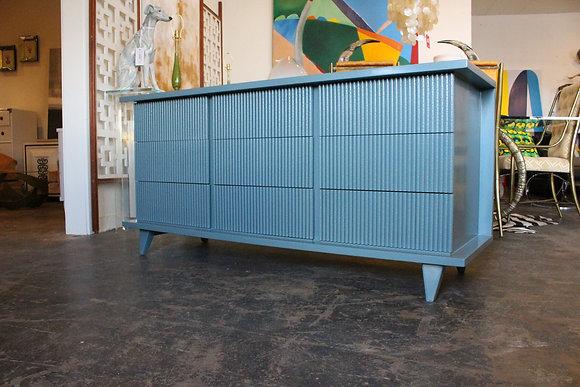 #8832 Blue/Gray American of Martinsville Dresser