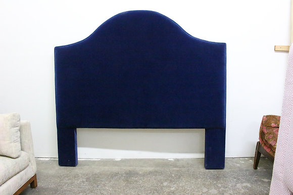 #1203 Navy Velvet Custom Headboard