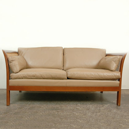 #5018 Arne Norell Caned Settee