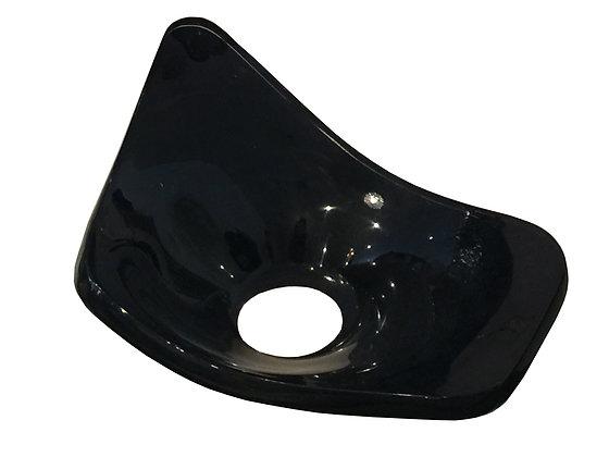 #2159 Black Lucite Dish