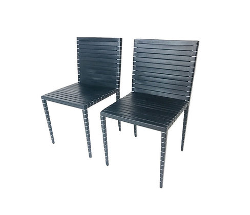 #4723 Matteo Grassi Dining Chairs