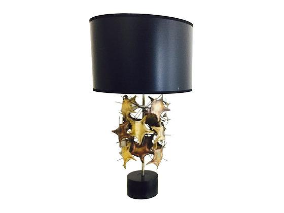 #2842 Jeré Style Brutalist Lamp