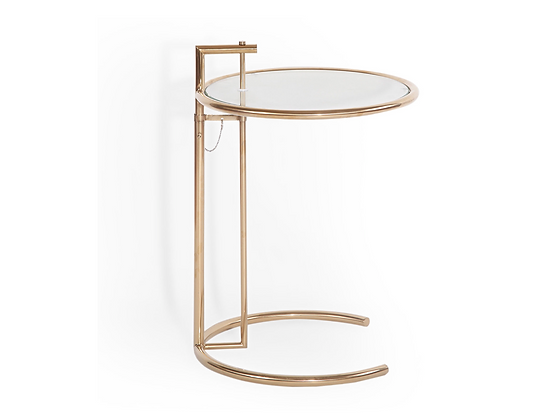 #3529 Eileen Gray Style Side Table (1 available)