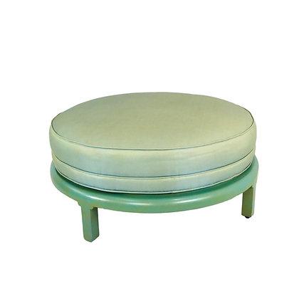 #5255 Vintage Round Ottoman