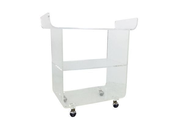 #2060 Lucite Bar Cart