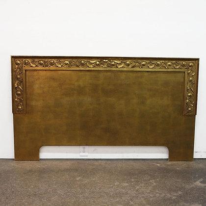 #7327 King Size Goldleaf Headboard