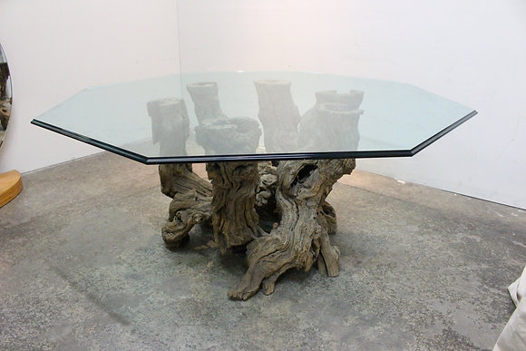 #742 Burl Root Dining Table