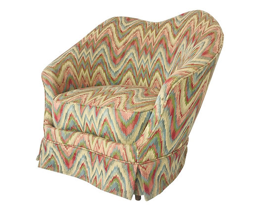 #4336 Federico Munari Chair in Original Missoni Fabric