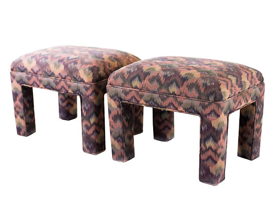 #3099 Pair of Parson Style Stools