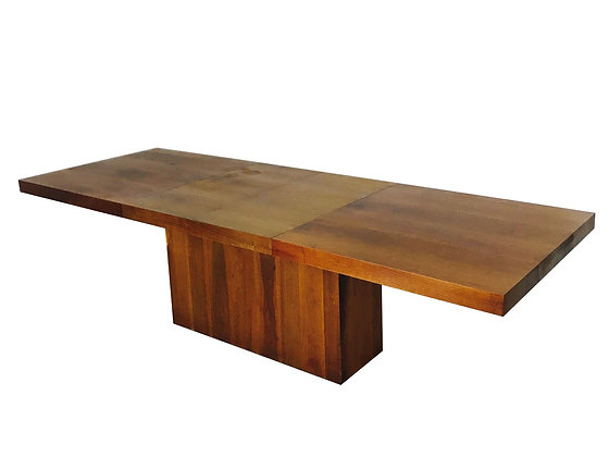 #3015 Walnut Dillingham Dining Table with Leaves
