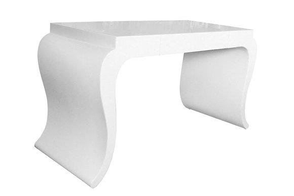 #1959 White Lacquered Desk