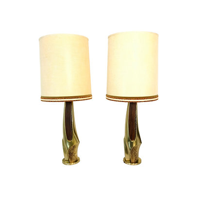 #4864 Pair of Lamps by Richard Barr and Harold Weiss for Laurel Lamp Company