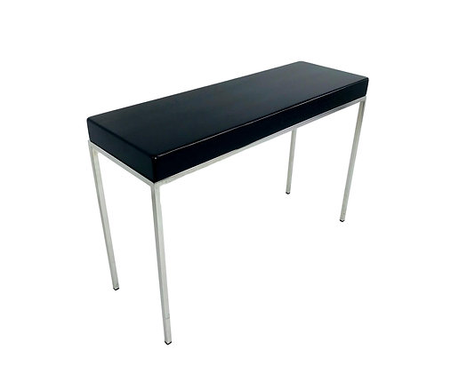 #5607 Ebonized Wood Side Table