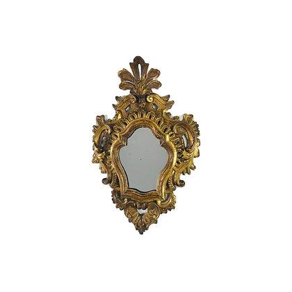 #4936 Small Venetian Gold Leaf Mirror