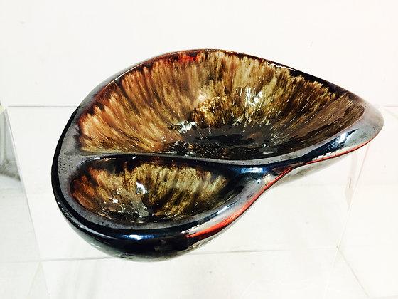 #2756 Brown Glazed Ashtray/Bowl