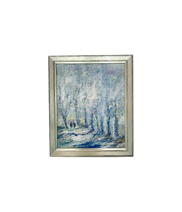 #4619 E. Brommlett Oil Painting