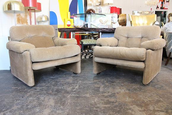 8785 Pair B&B Italia Chairs