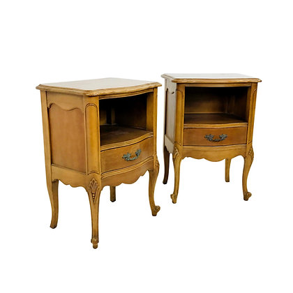 #5302 Pair of French Provincial Nightstands