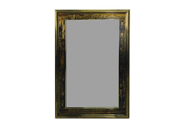 #1946 Mastercraft Mirror With Gold Frame