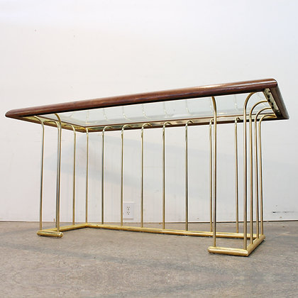 #7216 Brass Desk