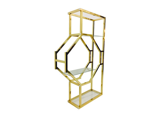 #2345 Brass Display Shelf