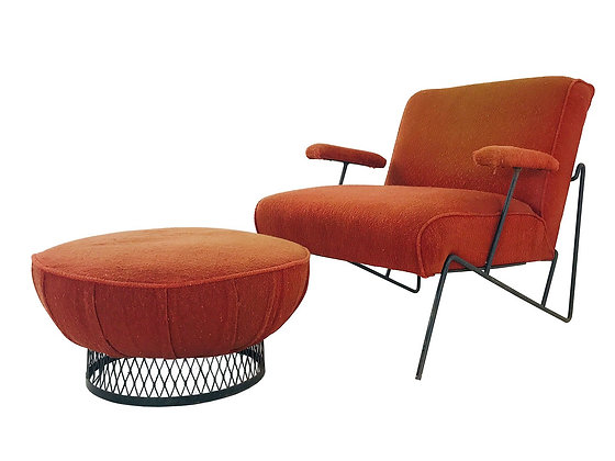 #4281 Salterini Chair & Ottoman