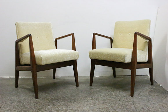 #6288 Pair Jens Risom Chairs