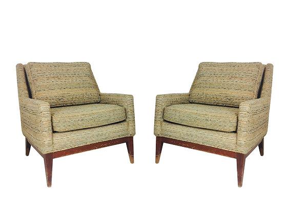 #2485 Pair MCM Lounge Chairs