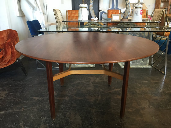 Walnut Dining Table by Lewis Butler for Knoll