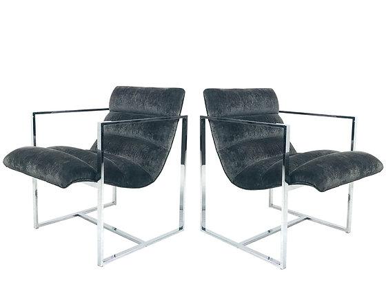 #1273 Pr Milo Cube Scoop Chairs